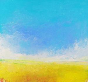 RUNAWAY 0613 88cm w x 83cm h canvas (2)